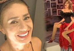 Konserleri İptal olun Aşi Karşiti Yildiz Tilbe ilk doz aşisini yaptirdi.